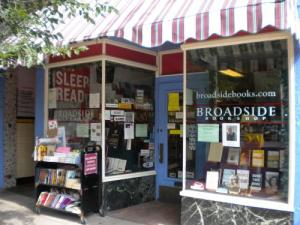 Broadside Books store front